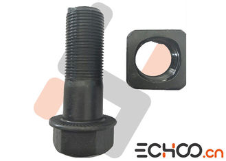 Grade 12.9 Volvo EC210 Excavator Wear Parts Track Bolts And Nuts High Hardness